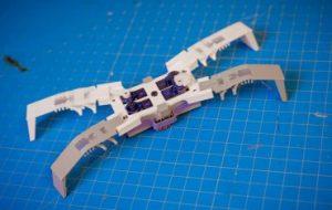 Созданы мягкие роботы с корпусом, похожим на экзоскелет насекомого