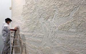 Как развести алебастр для стен