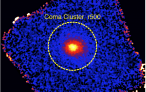 Телескоп ART-XC построил точную карту скопления галактик в созвездии Волосы Вероники в жестких рентгеновских лучах