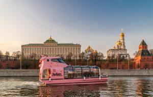 Речные трамвайчики флотилии «Рэдиссон Ройал» возобновляют работу