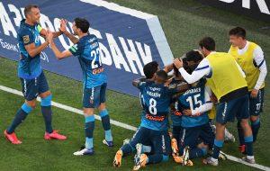 Питерский «Зенит» переиграл на своем поле ЦСКА