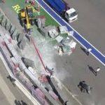 """Гонка """"Формулы-2"""" в Сочи отменена после серьезной аварии"""