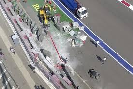 Гонка «Формулы-2» в Сочи отменена после серьезной аварии