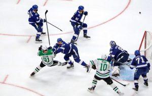 «Тампа-Бэй» сравняла счет в финале плей-офф НХЛ