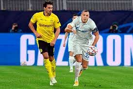 «Зенит» во втором туре группового раунда Лиги чемпионов на выезде проиграл дортмундской «Боруссии» — 0:2