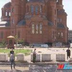 Строительство Александро-Невского собора в Волгограде подходит к концу