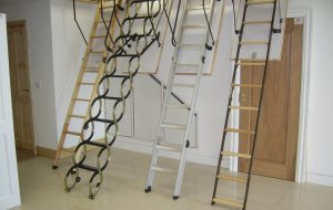 Удобные чердачные лестницы