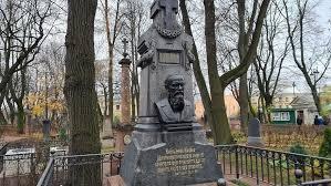 В Петербурге после реставрации открыли надгробный памятник Федору Достоевскому