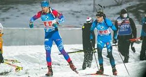 Биатлонисты Павлова и Елисеев представят Россию на «Рождественской гонке»
