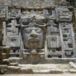 В Мексике найдена гигантская маска майя