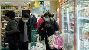 Покупки и еда во время пандемии