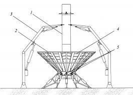 Сачок для мягкой космической посадки