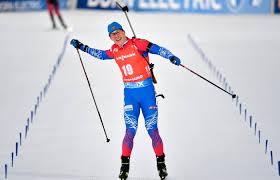 Биатлонист Латыпов стал вторым в масс-старте на этапе Кубка мира