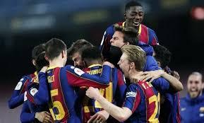 «Барселона» вышла в финал Кубка Испании благодаря голу Брэйтуэйта