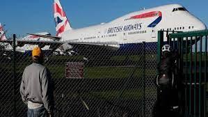 Приостановку авиасообщения с Великобританией продлили до апреля