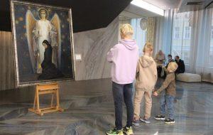 В Москве открылась выставка Михаила Савицкого «Черная быль»