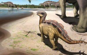 Найден след крошечного динозавра размером с кошку