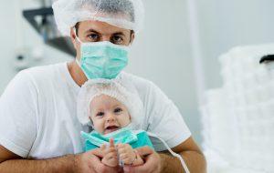 Дети могут носить маски начиная с четырех месяцев