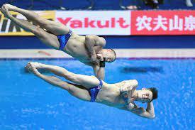 Кузнецов и Шлейхер взяли олимпийскую квоту в прыжках в воду с трамплина