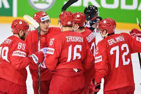 Сборная России разгромила Беларусь и стала первой в группе А на ЧМ-2021