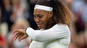 Серена Уильямс заплакала после полученной травмы на Уимблдоне