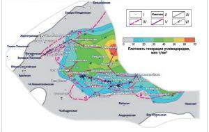 Трехмерное бассейновое моделирование богатой углеводородами территории Якутии