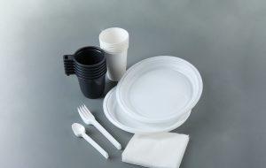 Обзор одноразовой посуды для мест общественного питания