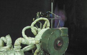 Ученые ИТ СО РАН создали экологичную горелку для сжигания отработанных масел