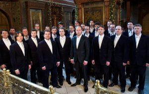Хор Сретенского монастыря дал концерт в храмовом комплексе Баальбека