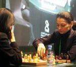 Шахматистка Горячкина достойно выступила на мужском ЧР